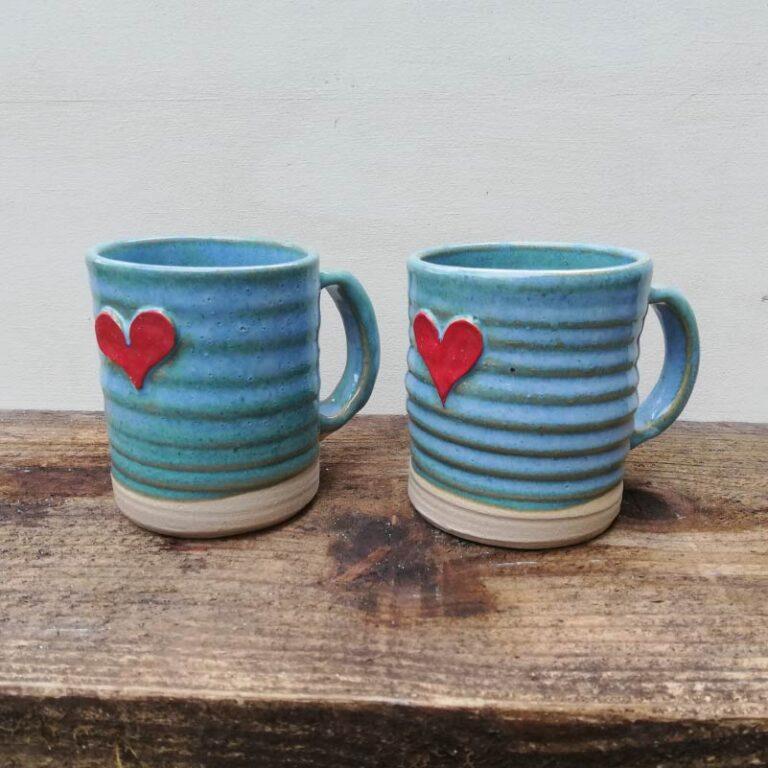 Rosie Pottery_Heart Mugs 2