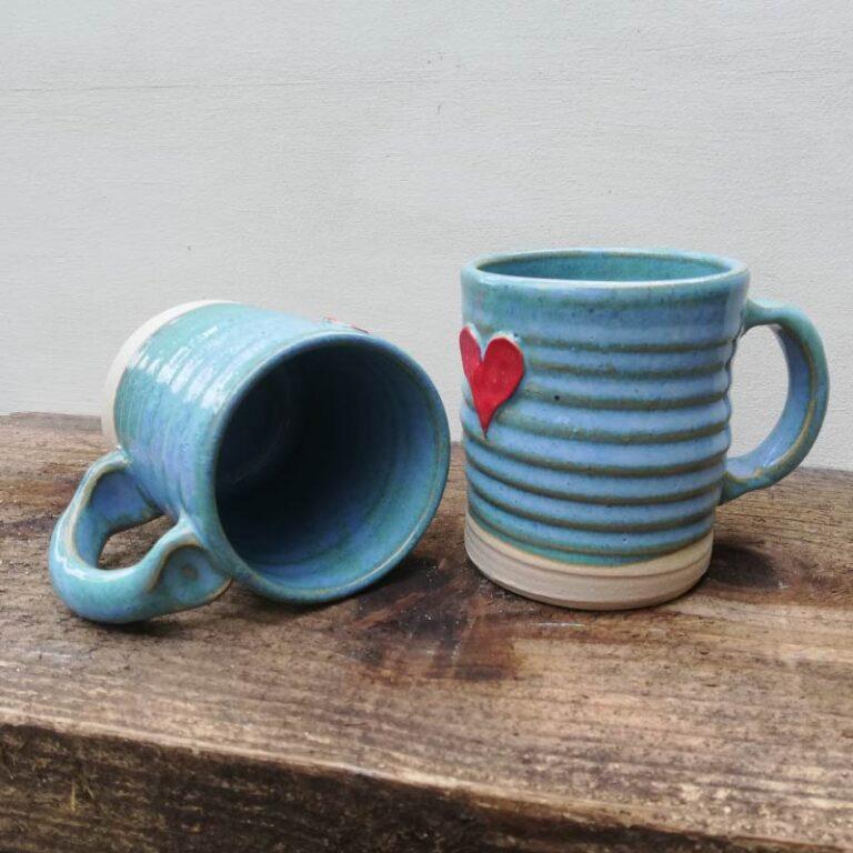 Rosie Pottery_Heart Mugs 3
